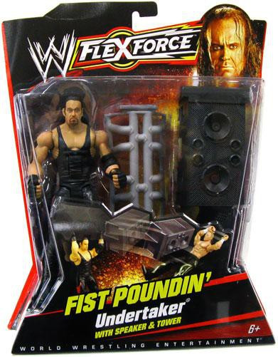 Mattel WWE Wrestling FlexForce Series 1 Fist Poundin' Und...
