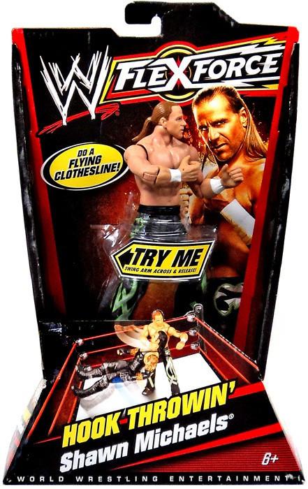 Mattel WWE Wrestling FlexForce Series 1 Shawn Michaels Ac...