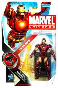 Hasbro Marvel Universe Series 7 Iron Man Action Figure #7