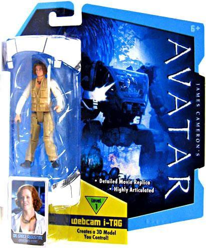 Mattel James Cameron's Avatar Dr. Grace Augustine Action ...