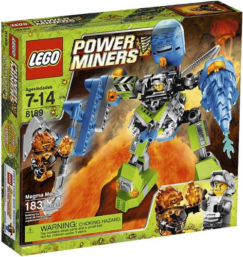 Lego Power Miners Magma Mech Set #8189