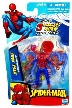 Hasbro Spider-Man 2010 Mega Arms Spider-Man Action Figure