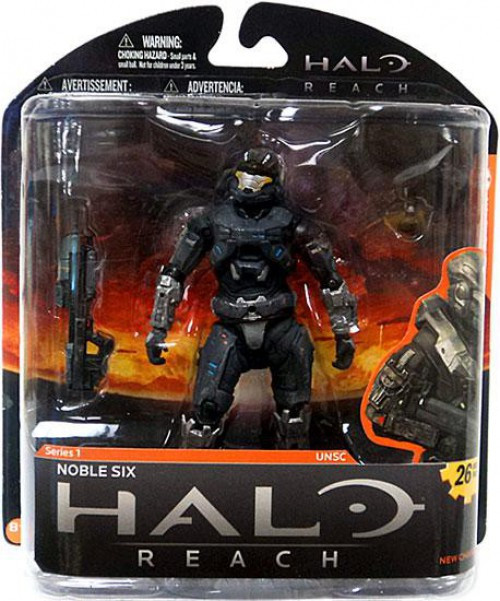 noble figures Buy halo reach series 1 noble 6 action figure at entertainment earth mint condition guaranteed free shipping on eligible purchases shop now.