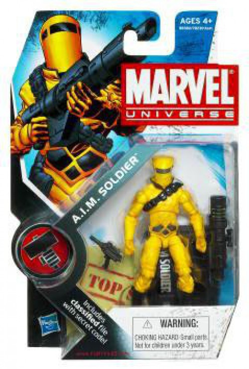 Hasbro Marvel Universe Series 8 A.I.M. Soldier Action Fig...