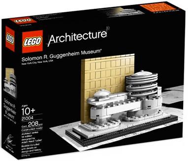 Lego Architecture Solomon R. Guggenheim Museum Set #21004...