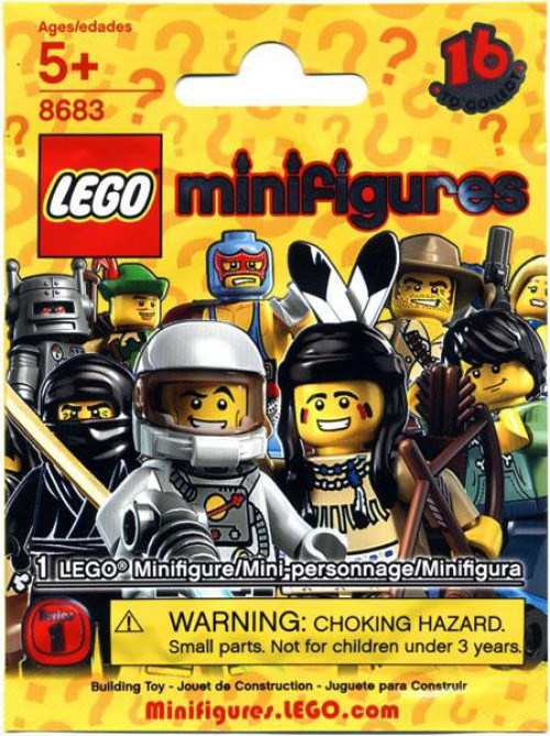 Lego Minifigures Series 1 Mystery Pack Toywiz