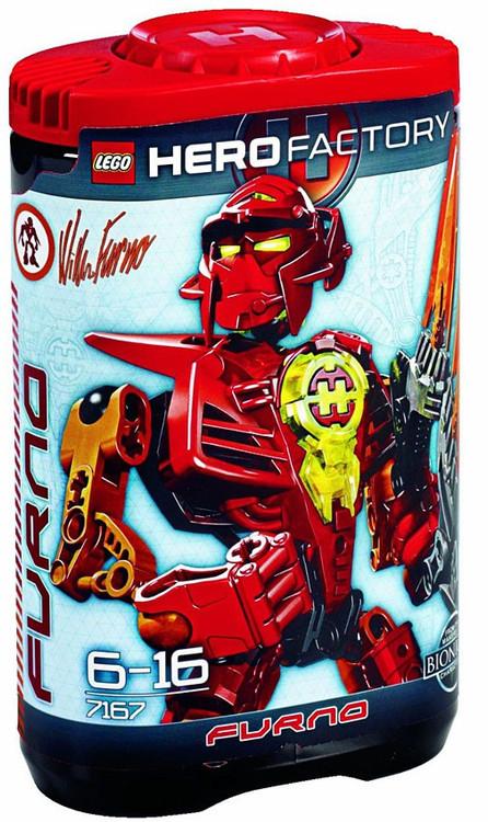 Lego Hero Factory William Furno Set #7167