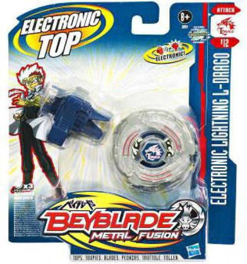 Hasbro Beyblade Metal Fusion Electronic Lightning L-Drago...
