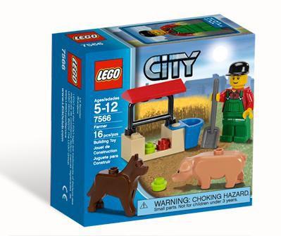Lego City Farmer Set #7566