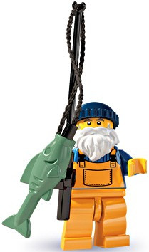 Lego Minifigures Series 3 Fisherman Minifigure [Loose]