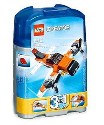 lego creator mini plane set 5762 toywiz. Black Bedroom Furniture Sets. Home Design Ideas