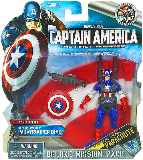 Captain America The First Avenger Deluxe Mission Pack Com...