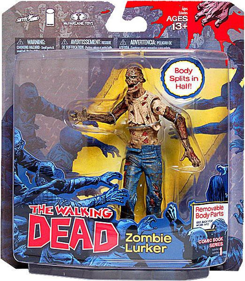 Mcfarlane Toys Walking Dead Comic Zombie Lurker Action Fi...