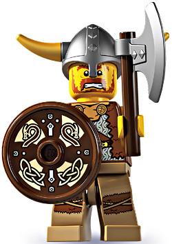 LEGO Minifigures Series 4 Viking Minifigure Loose - ToyWiz
