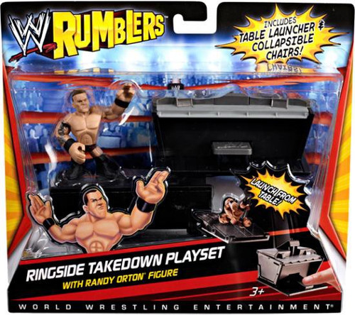 Mattel WWE Wrestling Rumblers Series 1 Ringside Takedown ...