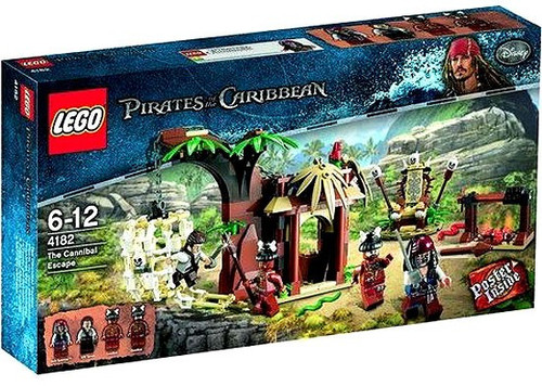 Lego Pirates of the Caribbean The Cannibal Escape Set #4182