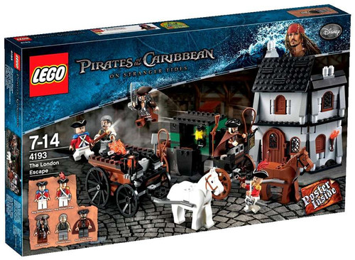 Lego Pirates of the Caribbean The London Escape Set #4193