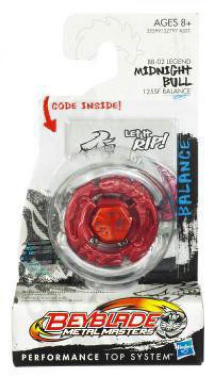 Hasbro Beyblade Metal Masters Midnight Bull Booster Pack ...