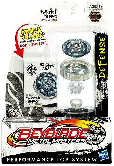 Hasbro Beyblade Metal Masters Twisted Tempo Single Pack B...