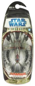 Hasbro Star Wars Attack of the Clones Titanium Series 200...