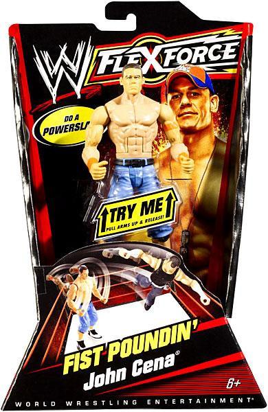 Mattel WWE Wrestling FlexForce Series 1 Fist Poundin' Joh...