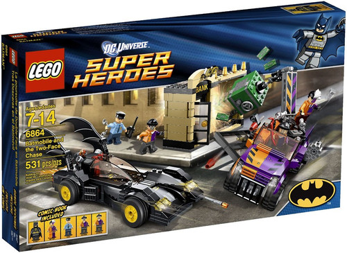 Lego DC Universe Super Heroes Batmobile and the Two-Face ...