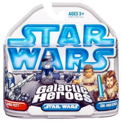 Hasbro Star Wars Attack of the Clones Galactic Heroes 200...