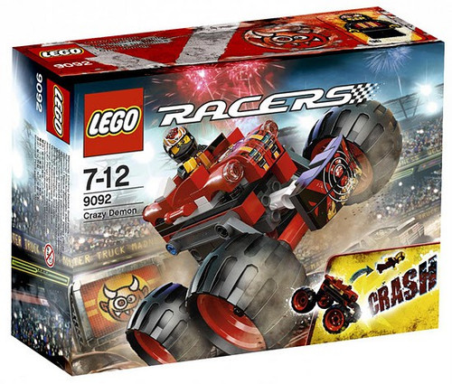 Lego Racers Crazy Demon Set #9092