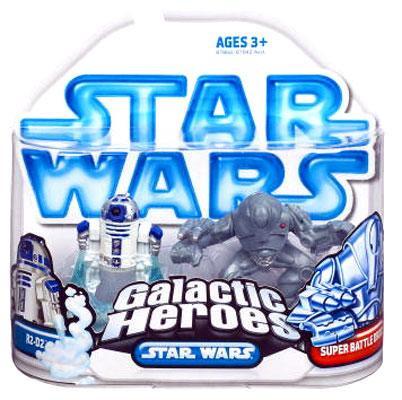 Hasbro Star Wars Revenge of the Sith Galactic Heroes 2008...