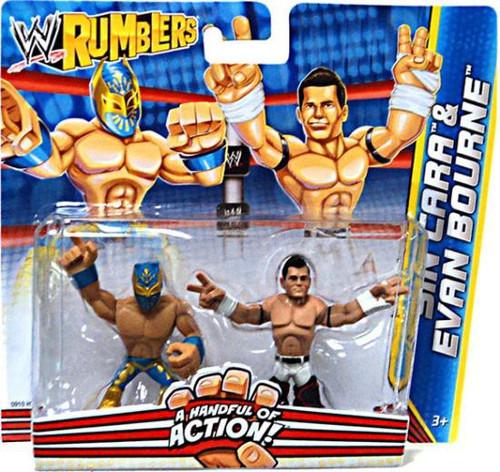 Mattel WWE Wrestling Rumblers Series 2 Sin Cara & Evan Bo...