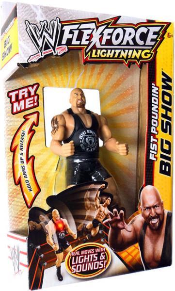 Mattel WWE Wrestling FlexForce Lightning Fist Poundin' Bi...