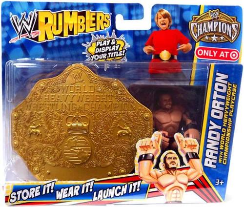 Mattel WWE Wrestling Rumblers Champions Randy Orton Exclu...