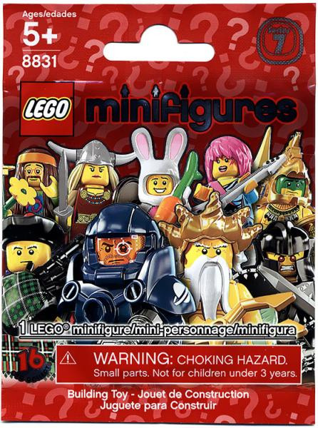lego minifigures series 7 mystery pack toywiz. Black Bedroom Furniture Sets. Home Design Ideas