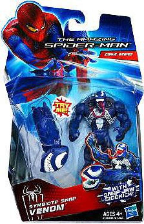 Hasbro The Amazing Spider-Man Comic Series Symbiote Snap ...