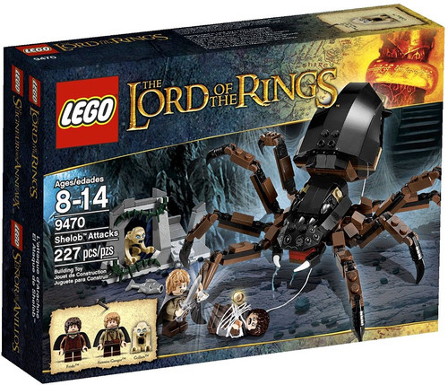 Lego The Lord of the Rings Shelob Attacks Set #9470