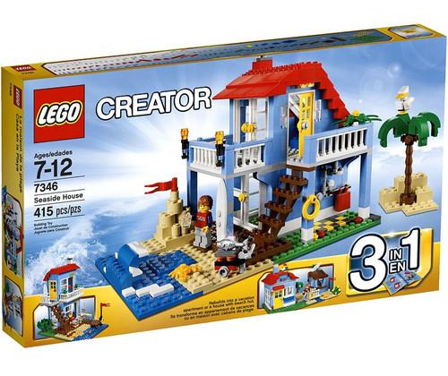 Lego Creator Seaside House Set #7346
