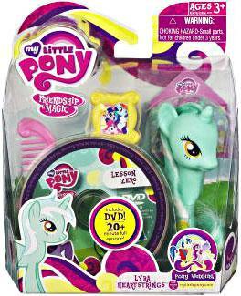 Hasbro My Little Pony Friendship is Magic Pony Wedding Ly...