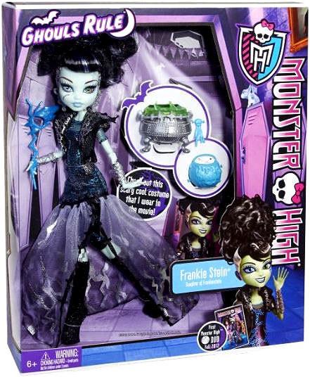 Mattel Monster High Ghouls Rule Frankie Stein 10.5-Inch Doll