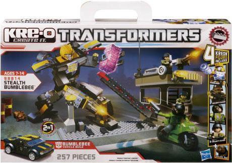 Hasbro Transformers Kre-O Stealth Bumblebee Set #98814