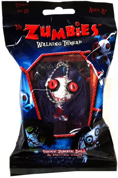 The Zumbies Walking Thread Lucky Zombie Doll Sally Keychain