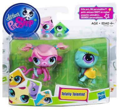 Hasbro Littlest Pet Shop Totally Talented Pets Monkey & T...