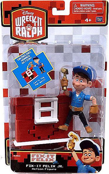 Wreck It Ralph Toys : Disney wreck it ralph fix felix jr action figure toywiz