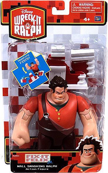 Wreck It Ralph Toys : Disney wreck it ralph action figure wall smashing