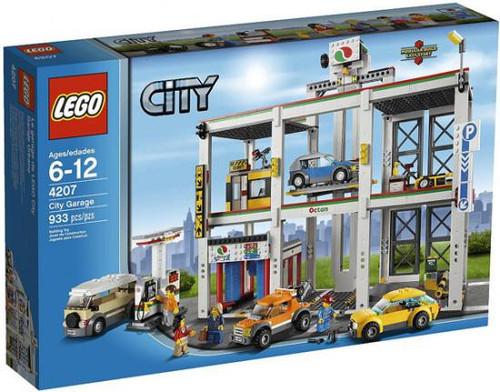 Lego City Garage Set #4207