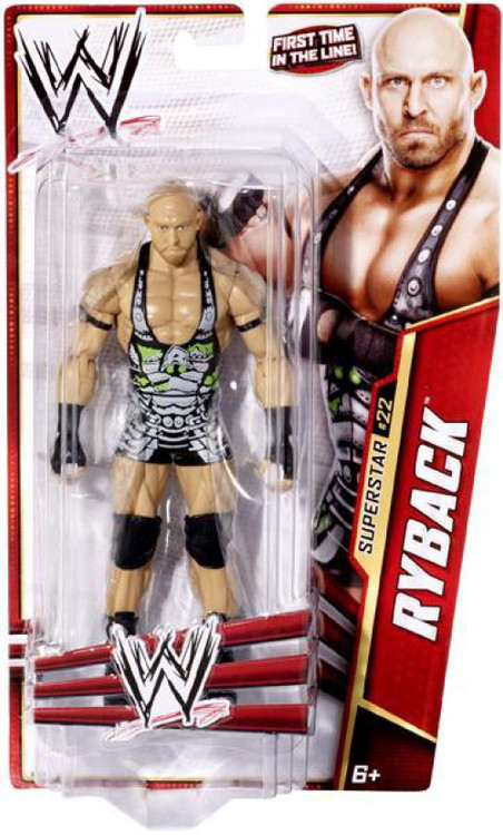 wwe wrestling series 27 ryback action figure 22 mattel toys