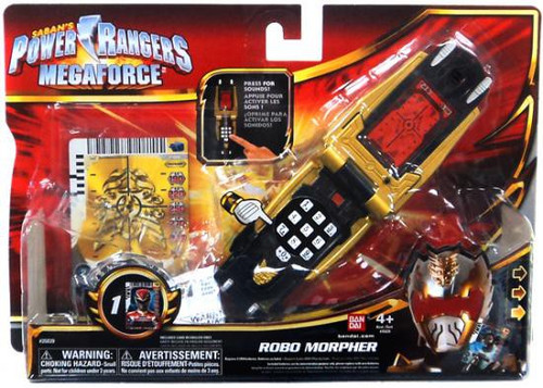 power rangers megaforce robo morpher roleplay toy bandai