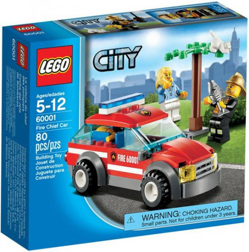 Lego City Fire Chief Car Set #60001