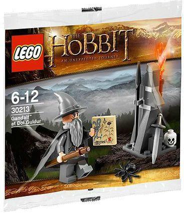 Lego The Hobbit Gandalf at Dol Goldur Mini Set #30213 [Ba...