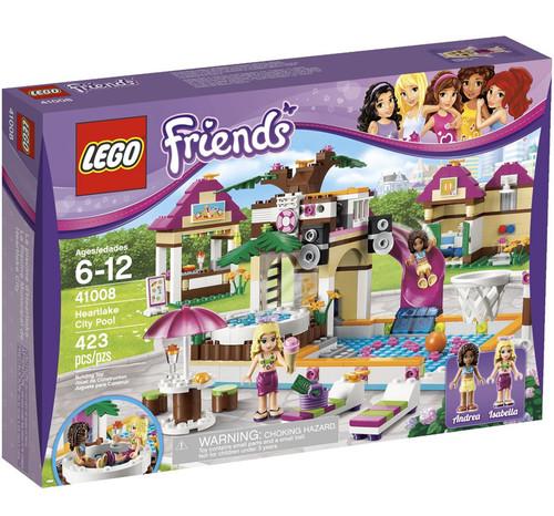 Fan Designed Lego Friends Heartlake City: LEGO Friends Heartlake City Pool Set 41008