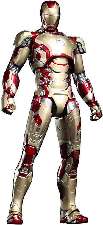 iron man 3 movie masterpiece iron man mark xlii 16. Black Bedroom Furniture Sets. Home Design Ideas